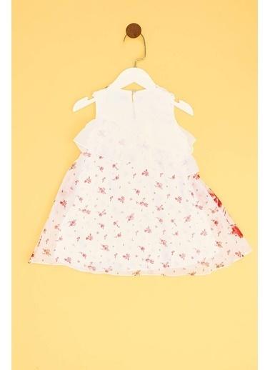 Lia Lea Lia Lea Kız Bebek Kırmızı Elbise 19SSLLB0168 Kırmızı